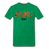 Florida A&M University (FAMU) Rep U Heritage T-Shirt - kelly green