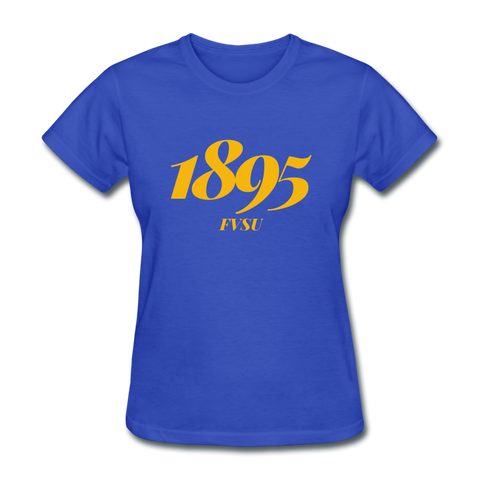 Fort Valley State University Rep U Year Women's T-Shirt - royal blue