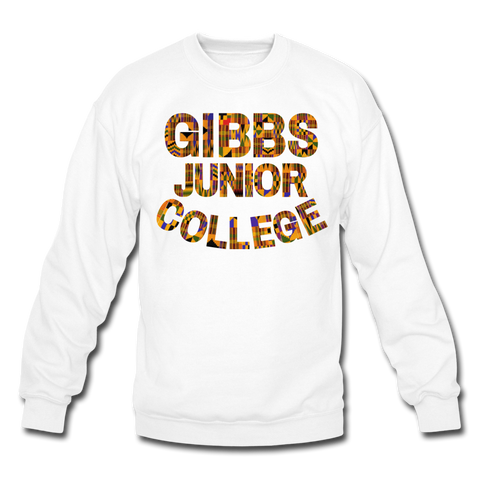 Gibbs Junior College Rep U Heritage Crewneck Sweatshirt - white
