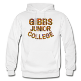 Gibbs Junior College Rep U Heritage Adult Hoodie - white