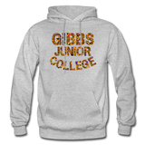 Gibbs Junior College Rep U Heritage Adult Hoodie - heather gray