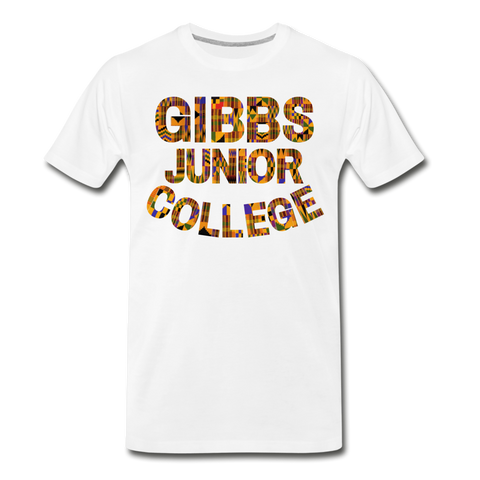 Gibbs Junior College Rep U Heritage T-Shirt - white