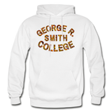 George R. Smith College Rep U Heritage Adult Hoodie - white