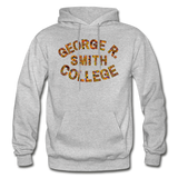 George R. Smith College Rep U Heritage Adult Hoodie - heather gray