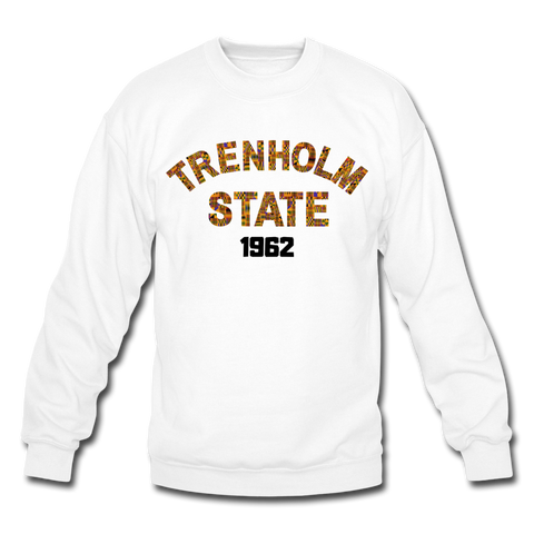 H Council Trenholm State Technical College Rep U Heritage Crewneck Sweatshirt - white
