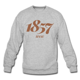 Harris-Stowe State University (HSSU) Rep U Year Crewneck Sweatshirt - heather gray