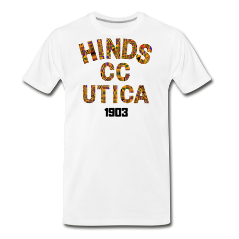 Hinds Community College-Utica Rep U Heritage T-Shirt - white