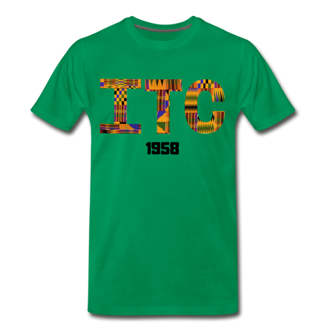 Interdenominational Theological Center (ITC) Rep U Heritage Premium Short Sleeve T-Shirt - kelly green