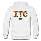 Interdenominational Theological Center (ITC) Rep U Heritage Pullover Hoodie - white