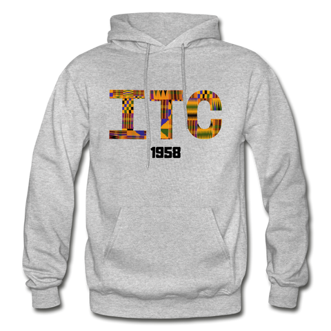 Interdenominational Theological Center (ITC) Rep U Heritage Pullover Hoodie - heather gray