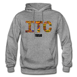 Interdenominational Theological Center (ITC) Rep U Heritage Pullover Hoodie - graphite heather