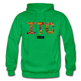 Interdenominational Theological Center (ITC) Rep U Heritage Pullover Hoodie - kelly green