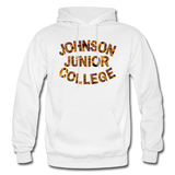 Johnson Junior College Rep U Heritage Adult Hoodie - white