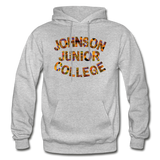 Johnson Junior College Rep U Heritage Adult Hoodie - heather gray