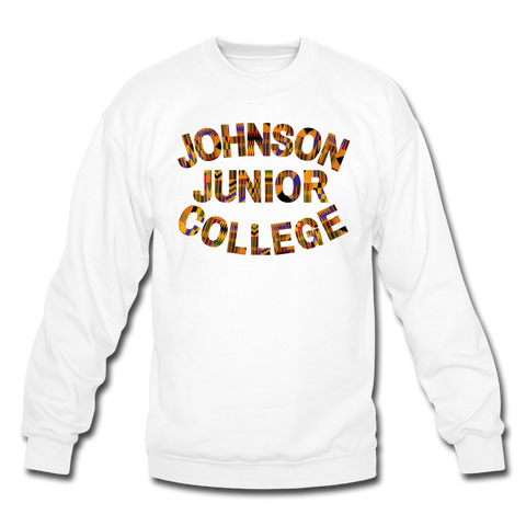 Johnson Junior College Rep U Heritage Crewneck Sweatshirt - white