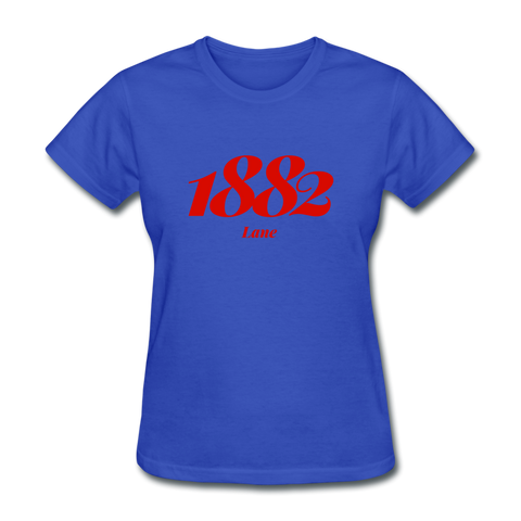 Lane College Rep U Year Women's T-Shirt - royal blue