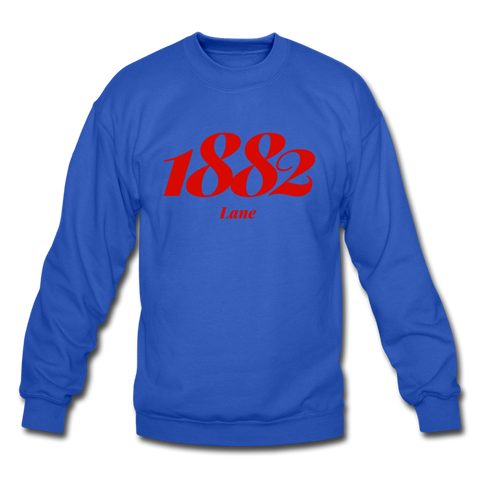 Lane College Rep U Year Crewneck Sweatshirt - royal blue