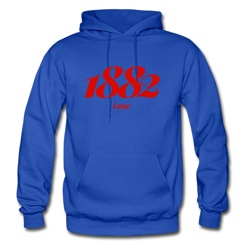 Lane College Rep U Year Adult Hoodie - royal blue