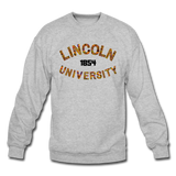 Lincoln University (Pennsylvania) Rep U Heritage Crewneck Sweatshirt - heather gray
