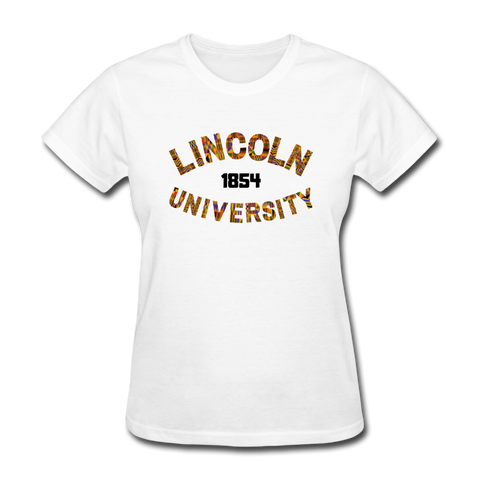 Lincoln University (Pennsylvania) Rep U Heritage Women's T-Shirt - white