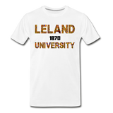 Leland University Rep U Heritage T-Shirt - white