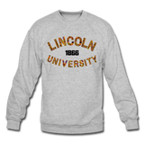 Lincoln University (Missouri) Rep U Heritage Crewneck Sweatshirt - heather gray