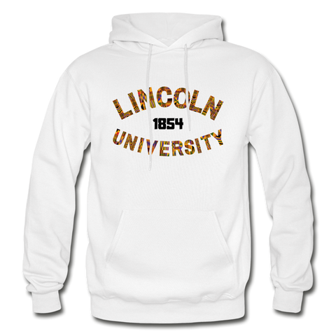 Lincoln University (Pennsylvania) Rep U Heritage Adult Hoodie - white