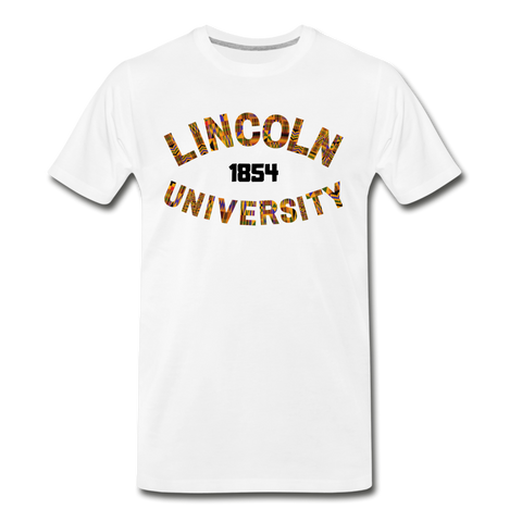 Lincoln University (Pennsylvania) Rep U Heritage T-Shirt - white