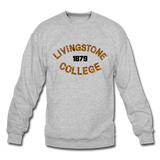 Livingstone College Rep U Heritage Crewneck Sweatshirt - heather gray