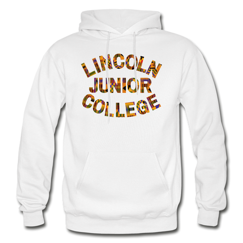 Lincoln Junior College Rep U Heritage Adult Hoodie - white
