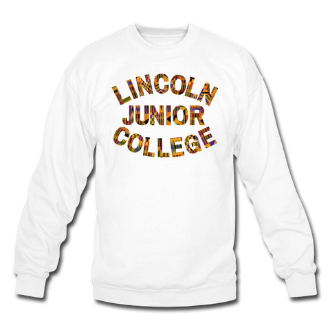 Lincoln Junior College Rep U Heritage Crewneck Sweatshirt - white