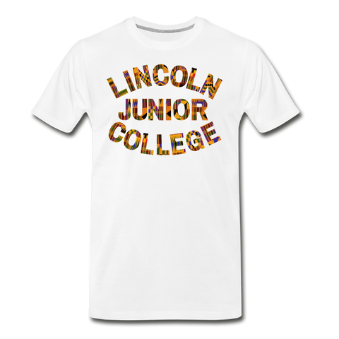Lincoln Junior College Rep U Heritage T-Shirt - white