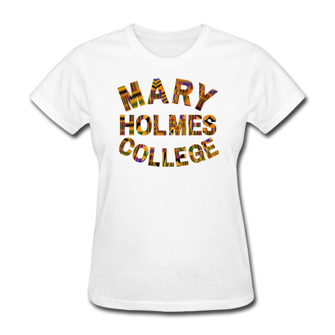 Mary Holmes College Rep U Heritage Women's T-Shirt - white