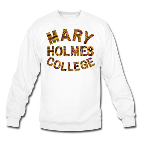Mary Holmes College Rep U Heritage Crewneck Sweatshirt - white