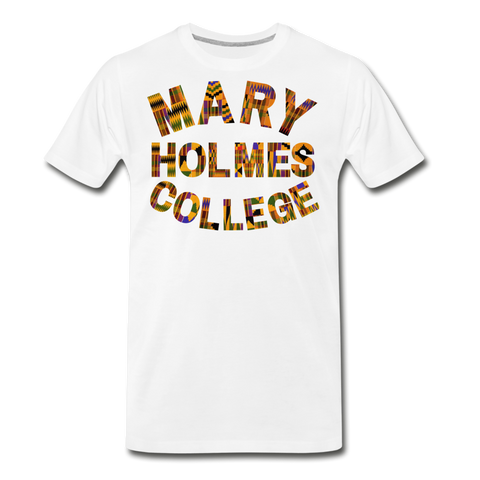 Mary Holmes College Rep U Heritage T-Shirt - white