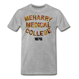 Meharry Medical College Rep U Heritage T-Shirt - heather gray