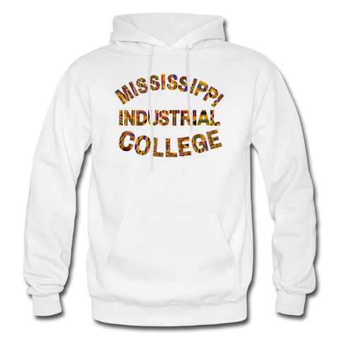 Mississippi Industrial College Rep U Heritage Adult Hoodie - white