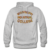 Mississippi Industrial College Rep U Heritage Adult Hoodie - heather gray