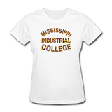 Mississippi Industrial College Rep U Heritage Women's T-Shirt - white