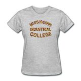 Mississippi Industrial College Rep U Heritage Women's T-Shirt - heather gray