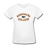 Morehouse College Rep U Heritage Women's T-Shirt - white