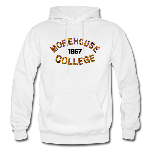 Morehouse College Rep U Heritage Adult Hoodie - white