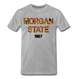 Morgan State University Rep U Heritage T-Shirt - heather gray