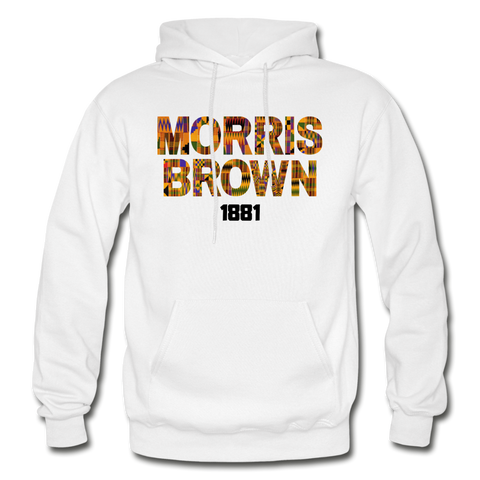 Morris Brown College Rep U Heritage Adult Hoodie - white