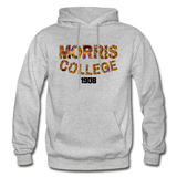 Morris College Rep U Heritage Adult Hoodie - heather gray