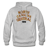 North Carolina Central University Rep U Heritage Adult Hoodie - heather gray