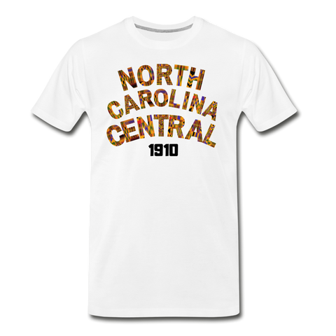North Carolina Central University Rep U Heritage T-Shirt - white