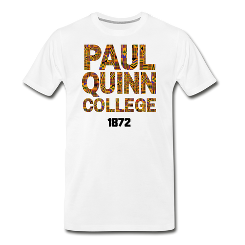 Paul Quinn College Rep U Heritage T-Shirt - white