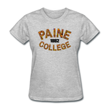 Paine College Rep U Heritage Women's T-Shirt - heather gray