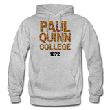 Paul Quinn College Rep U Heritage Adult Hoodie - heather gray